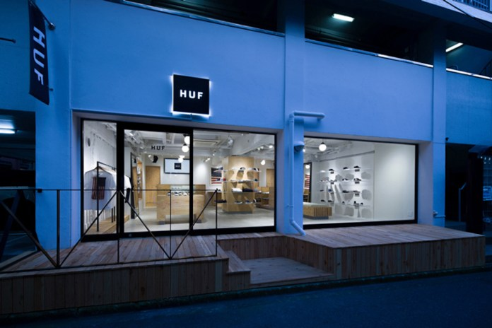 A Look Inside HUF's New Tokyo Outpost