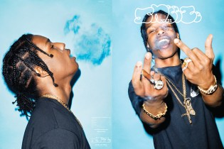"A$AP Rocky Covers 'SNEEZE' No. 25 – The ""Excuse Me"" Issue"