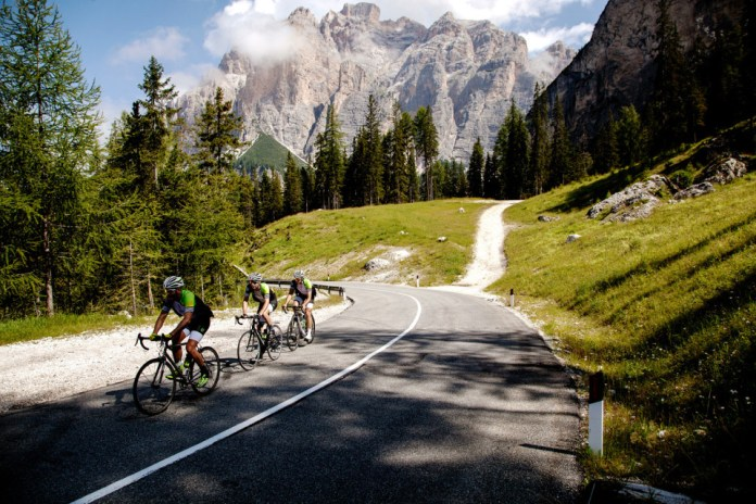 adidas and the 5th Floor Cycling Collective Take on Italy's Dolomite Region