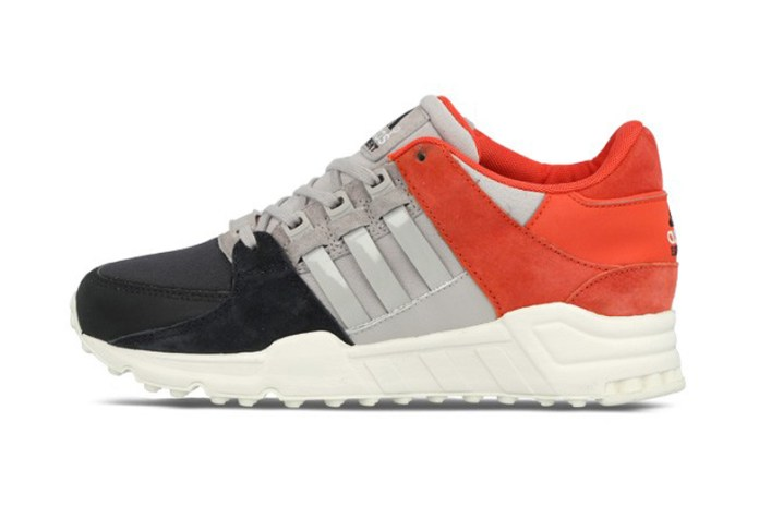 adidas Originals EQT Support '93 Night Grey/Clear Granite/Bright Red