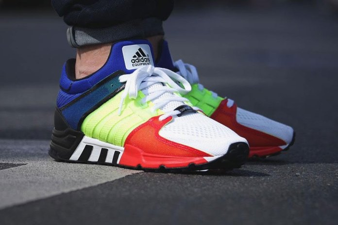 "adidas Equipment Running Support 93 ""Color Blocking"""