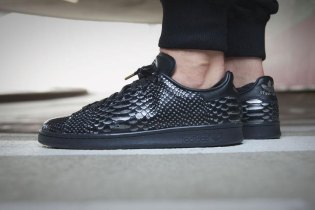 "adidas Originals Stan Smith ""Black Reptile"""
