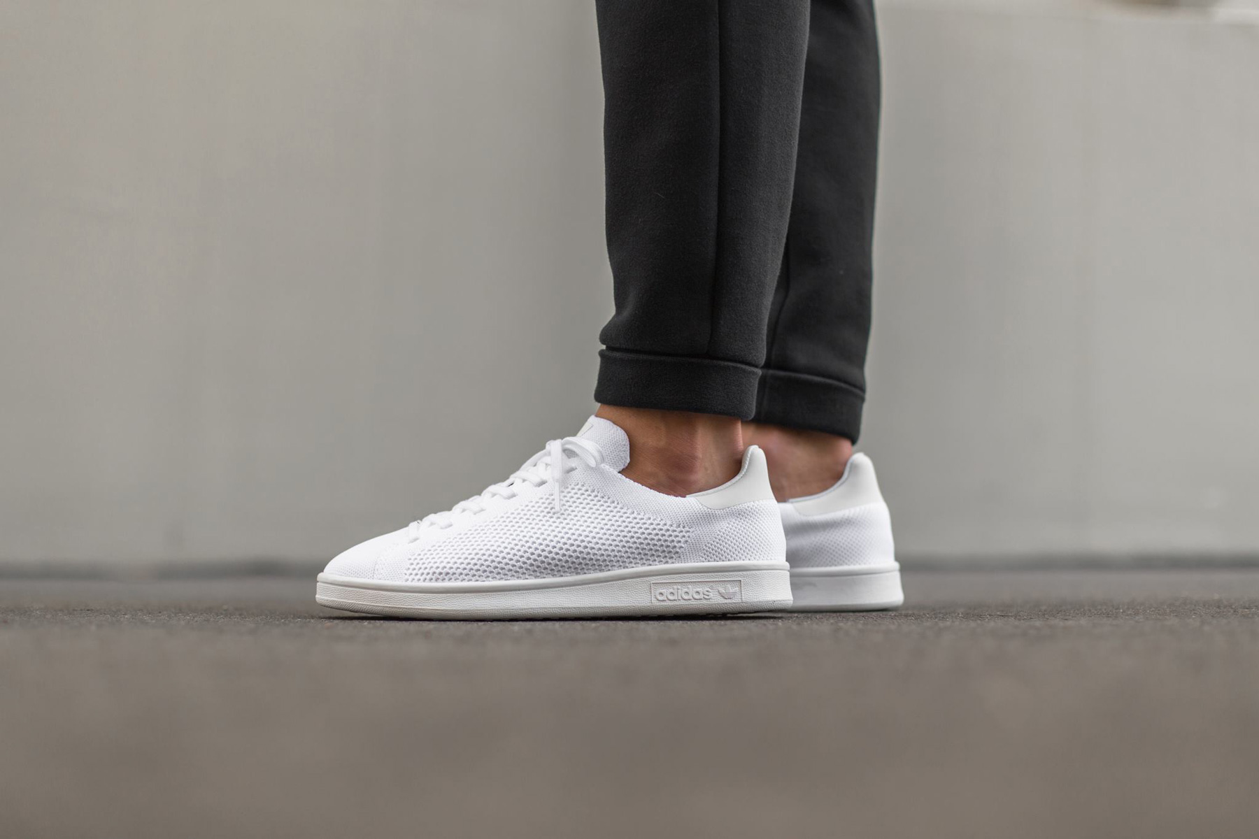 Adidas Stan Smith Primeknit Grau
