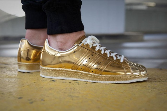 "adidas Originals Superstar 80s ""Metallic Gold"""