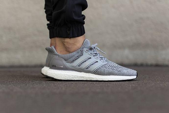 adidas Ultra Boost Grey/Silver Metallic