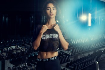 """Adrianne Ho Launches """"Sweat Crew"""" Clothing Label"""