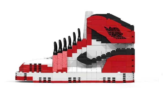 Air Jordan 1 Made out of LEGO