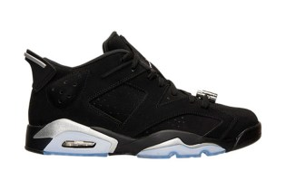 "Air Jordan 6 Retro Low ""Chrome"""