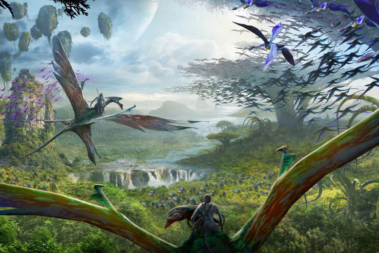 """An Avatar-Themed """"Pandora"""" Park Is Set to Open at Disney World in 2017"""