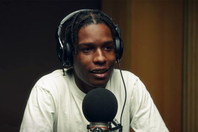 A$AP Rocky on His Album and Collaborating With Rod Stewart on Beats 1 Radio With Zane Lowe