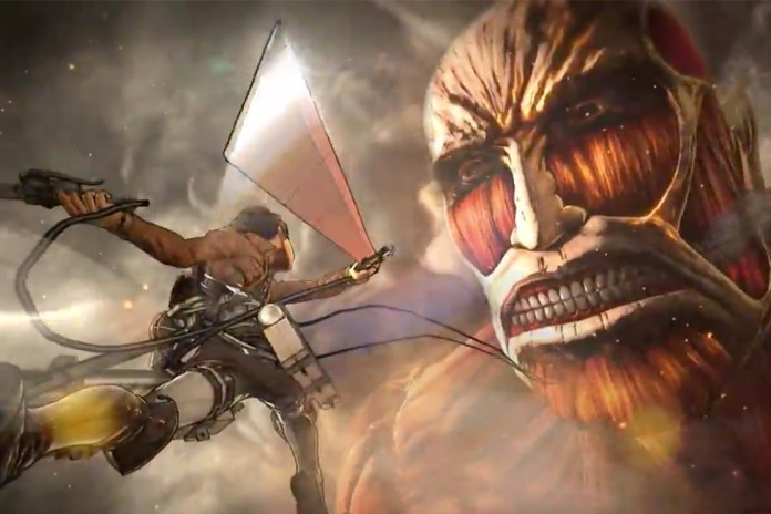 'Attack on Titan' Video Game Teaser Trailer