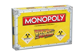 'Back to the Future' Monopoly Game Set