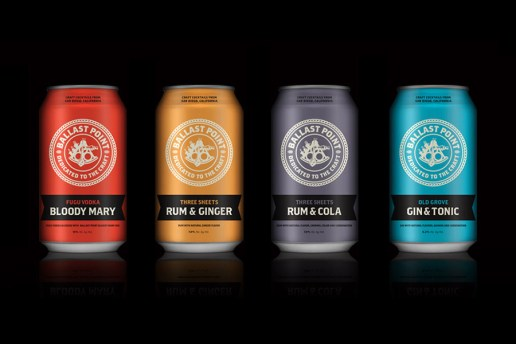 Ballast Point Puts Your Favorite Cocktails in a Can