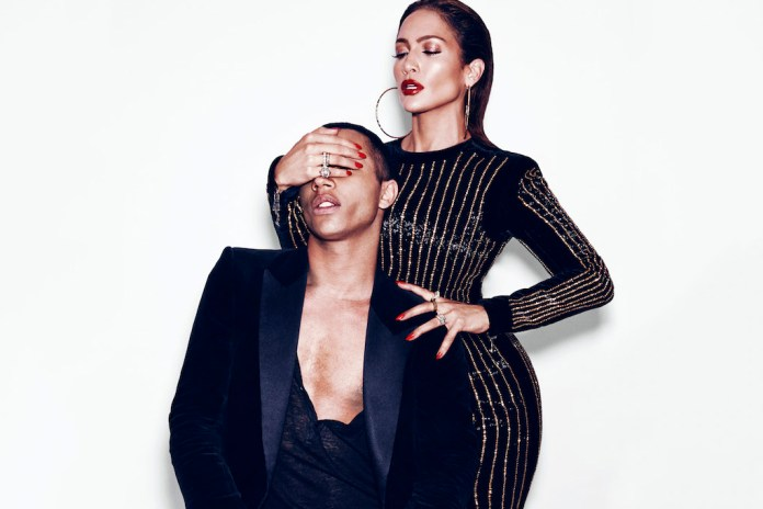 Balmain's Olivier Rousteing and J.Lo Talk Fashion, Race and Pop Culture