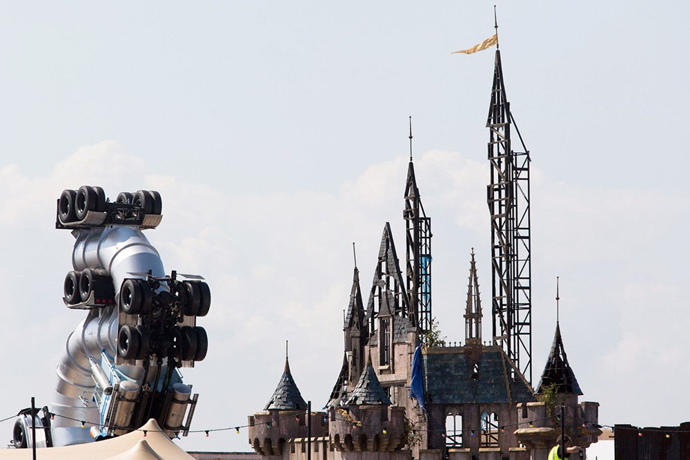 """Banksy Takes Aim at Disney With """"Dismaland"""" Pop-Up Exhibition"""
