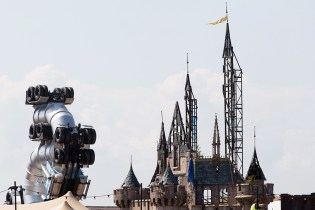 "Banksy Takes Aim at Disney With ""Dismaland"" Pop-Up Exhibition"