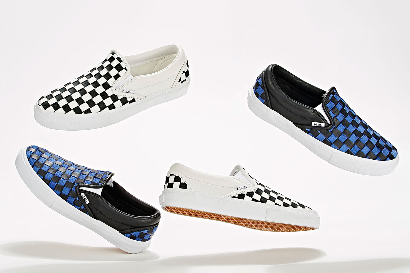Barneys x Vans 2015 Fall BNY Sole Series Checkerboard Slip-On