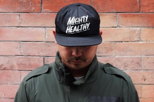Baron Von Fancy x Mighty Healthy 2015 Summer Nylon Snapback