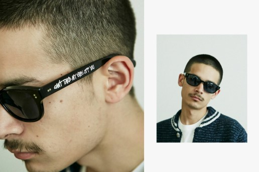 "BEDWIN & THE HEARTBREAKERS x Stussy ""Manson"" Sunglasses"