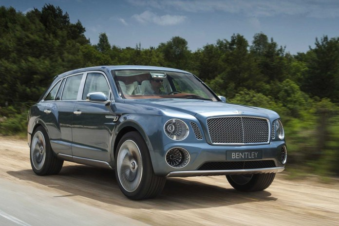 Bentley Teases Its First-Ever SUV: The 2016 Bentayga   Video