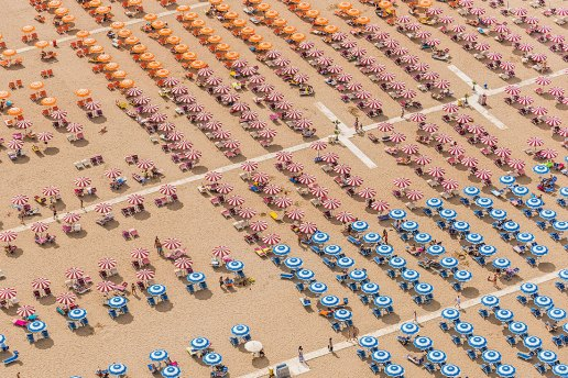 Bernhard Lang Presents a New Series of Symmetrical Aerial Shots