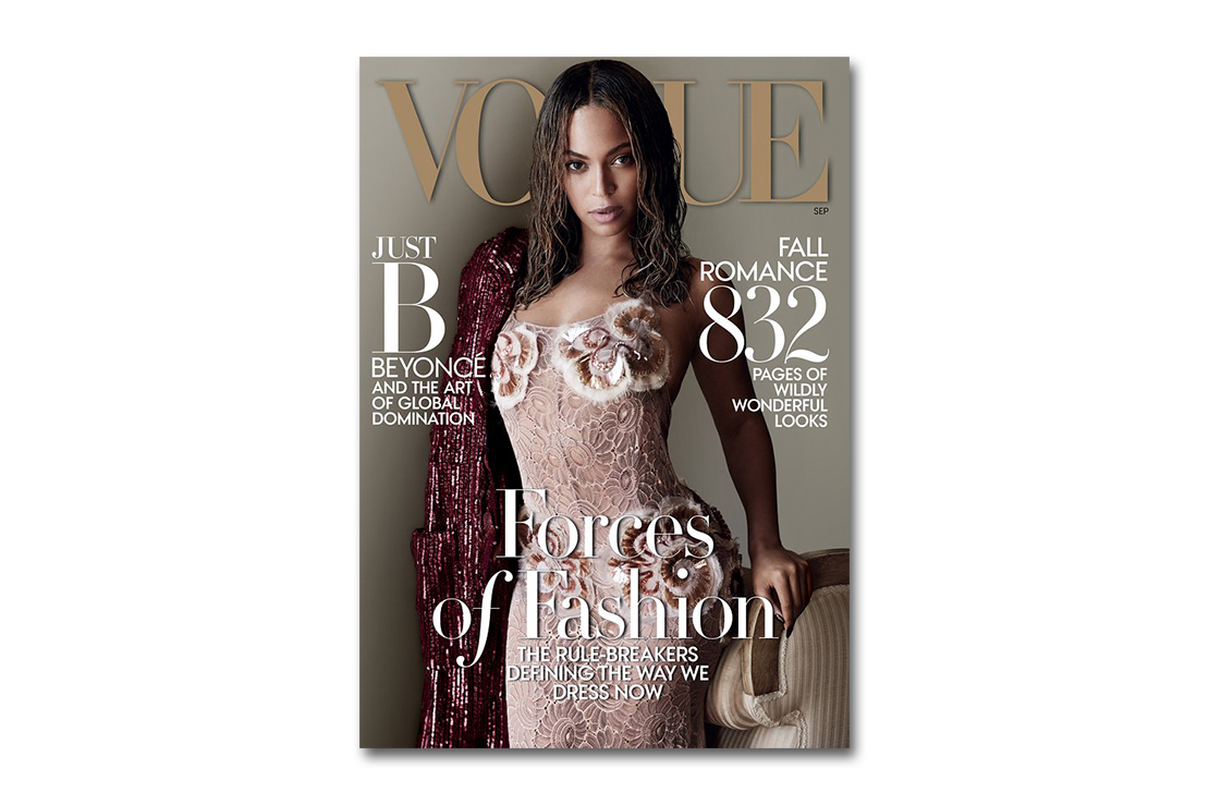 Beyoncé Covers the 2015 September Issue of 'Vogue'
