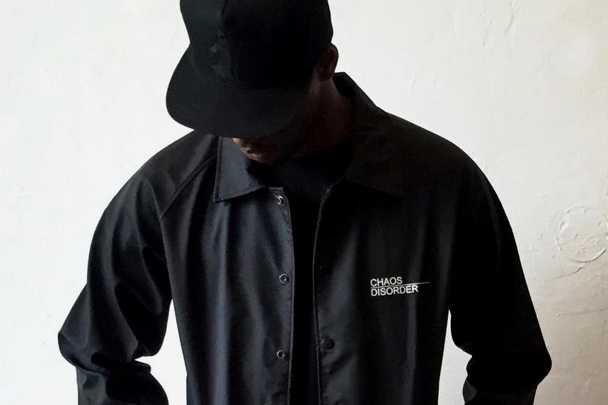 Black Scale C/D Coaches Jacket