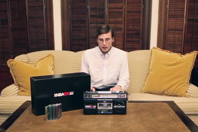 Brad Hall Cashes in With NBA 2K16 Boombox Giveaway