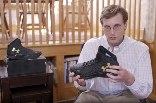 Brad Hall Prepares for a Date With the Under Armour Curry One