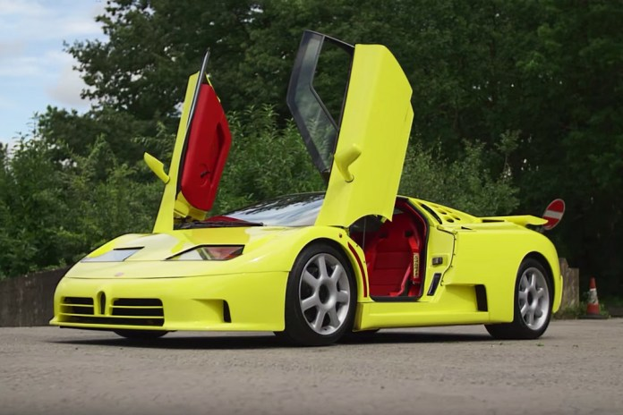 Chris Harris Drives His Dream Car, the Bugatti EB110 SuperSport