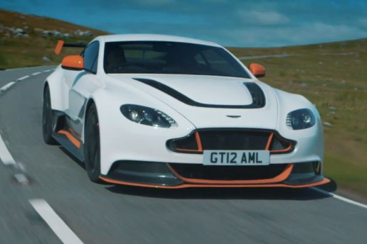 Chris Harris Takes the Aston Martin Vantage GT12 for a Spin