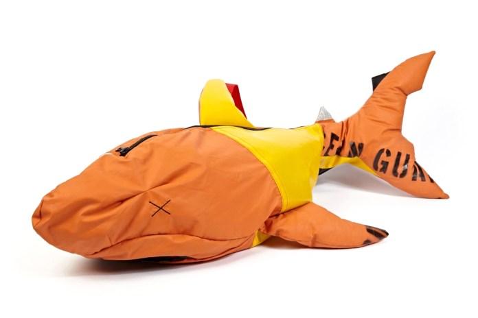 Christopher Raeburn REMADE Shark Shoulder Bag
