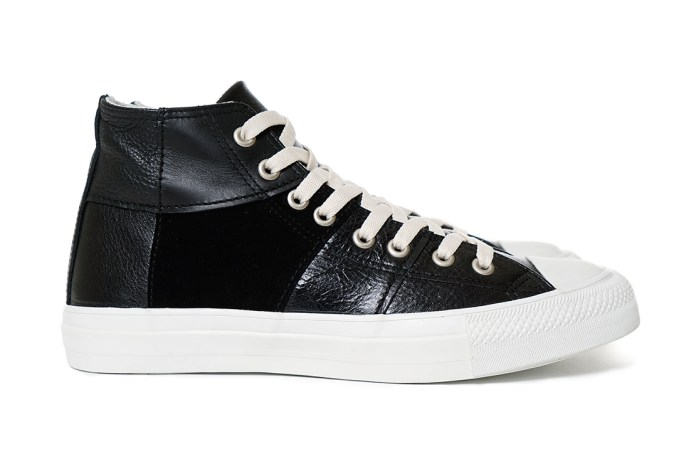 COMME des GARÇONS Homme 2015 Fall/Winter Steer Multi Fabrics Mix High-Top Sneaker