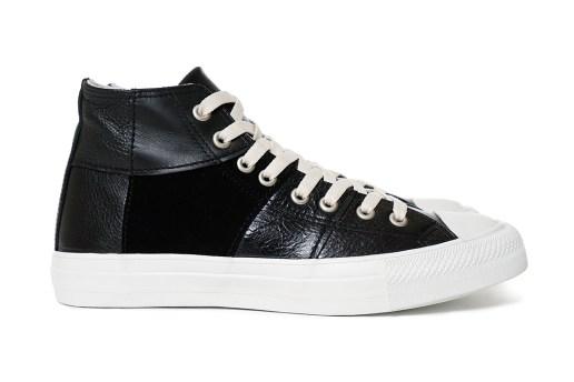 COMME des GARÇONS Homme 2015 Fall/Winter Steer Multi Fabrics Mix High-Top Sneaker