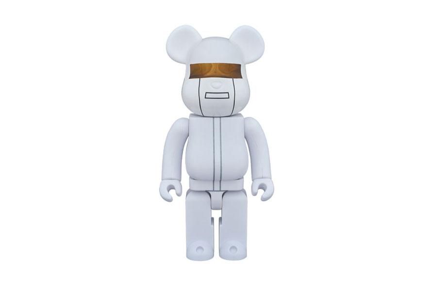 "Daft Punk x Medicom Toy Bearbrick ""White Suits Version"""