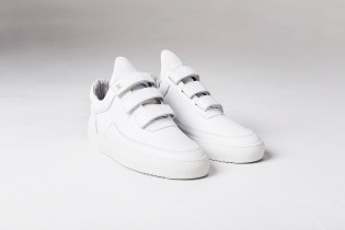 Daily Paper x Filling Pieces Low Top Velcro White