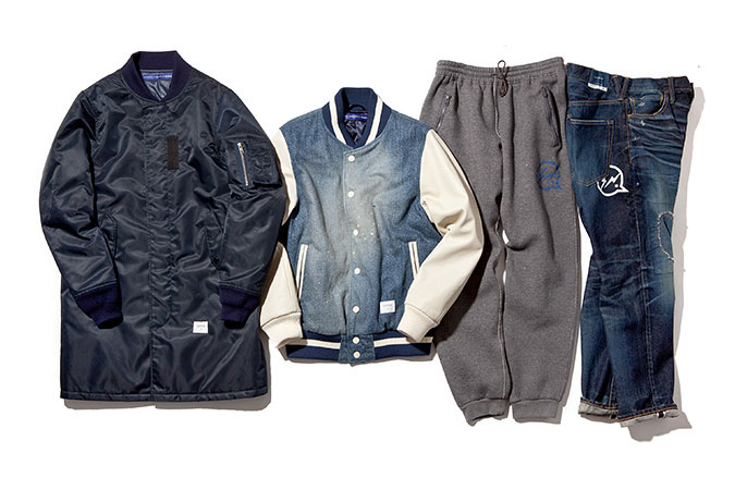 DENIM BY VANQUISH & FRAGMENT 2015 Fall/Winter Collection