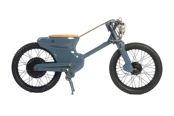 Deux Ex Machina Unveils This Stripped-Down Custom Electric Motorbike Design