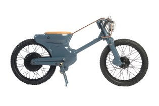 Deux Ex Machina Unveils This Stripped-Down Custom Electric Motorbike Design