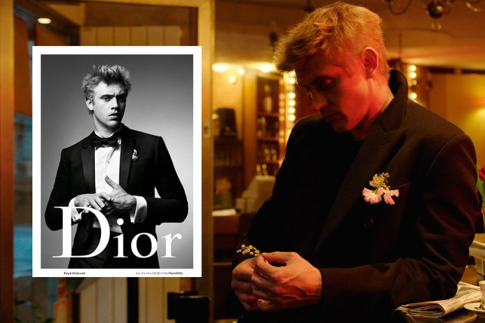 """Dior Homme and Willy Vanderperre Present """"Paris XVIE"""" Featuring Boyd Holbrook"""