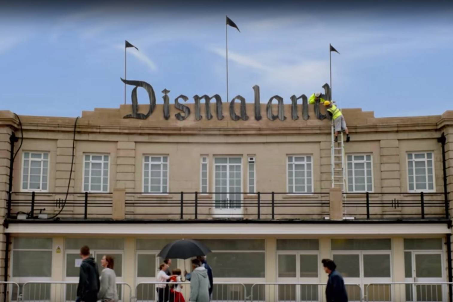 Banksy Releases Official Dismaland Commercial