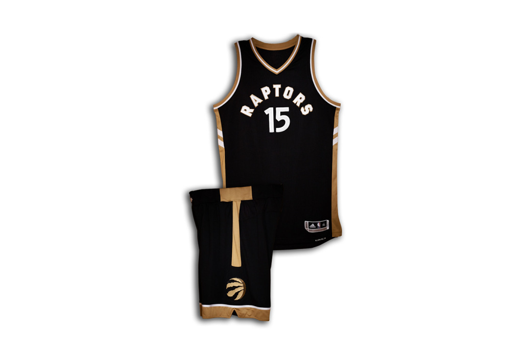 Drake Unveiled the Raptors' OVO-Themed 2015-16 NBA Jersey During OVO Fest