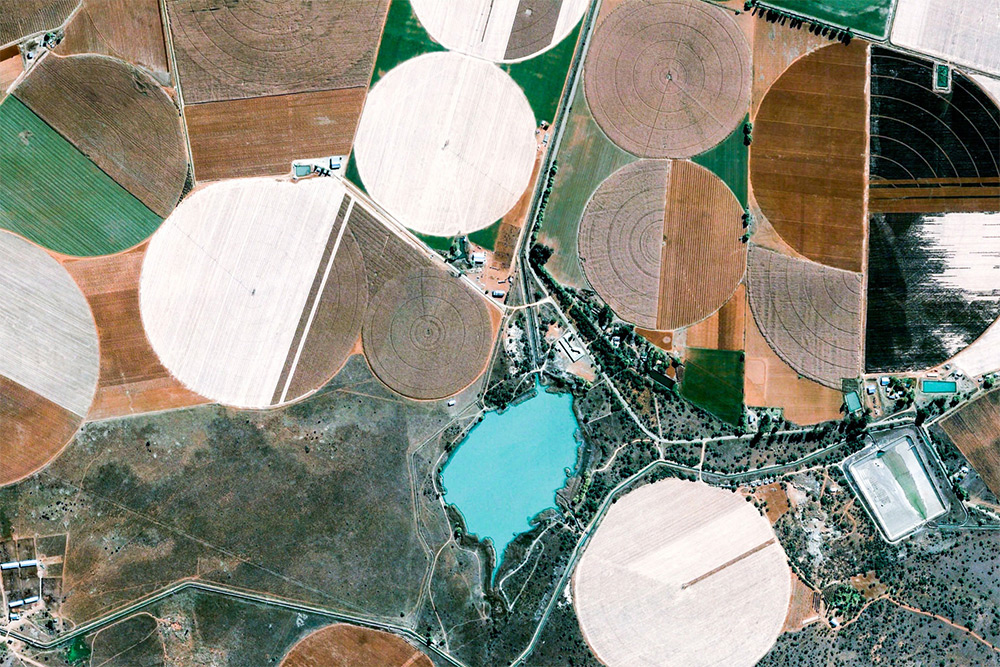"""Earth View,"" A Curated Collection of Google Earth's Best Satellite Photography"