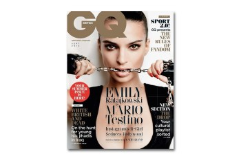 Emily Ratajkowski Covers the 2015 September Issue of 'British GQ'