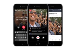 Facebook Introduces Mentions Live-Streaming App for Celebrities