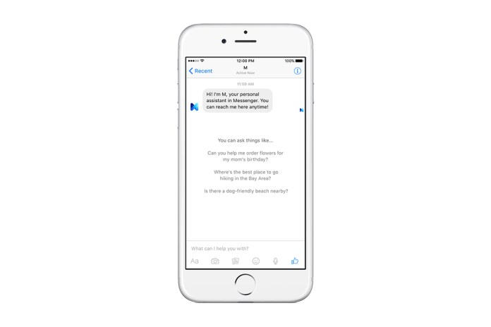Facebook Unveils Its Answer to Siri & Cortana