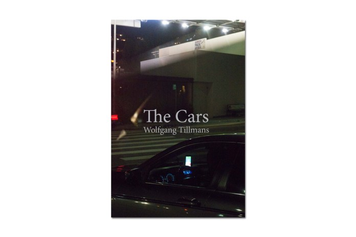 "Famed German Photographer Wolfgang Tilmans Releases ""The Cars"" Book"