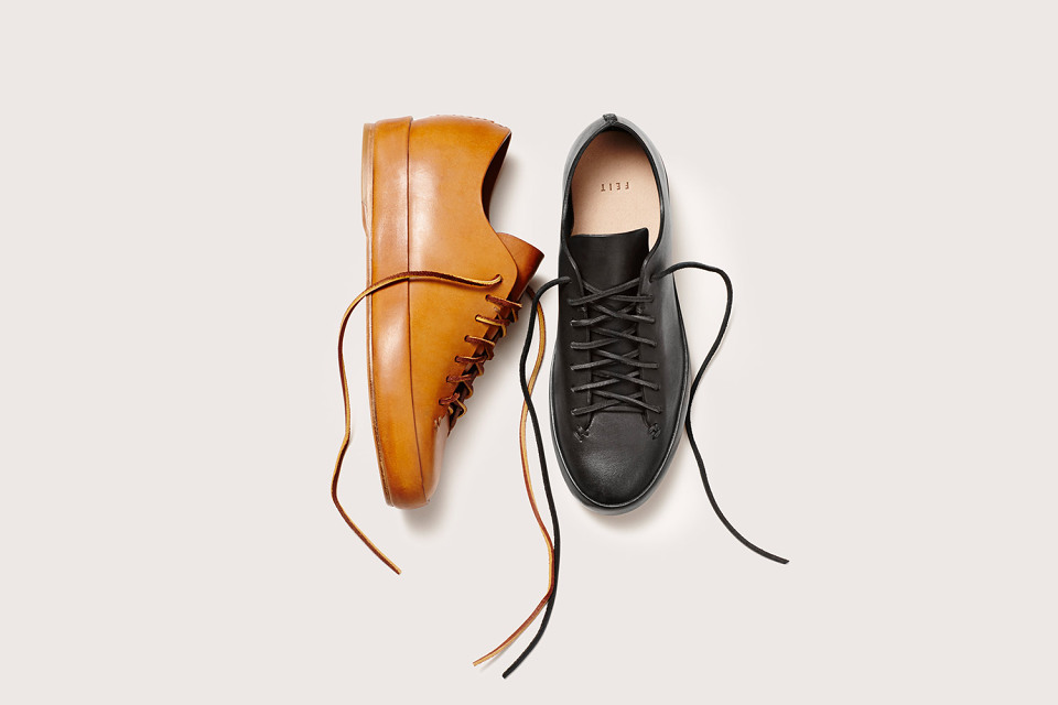 FEIT 2015 Fall Hand Sewn Low & High Leather Collection
