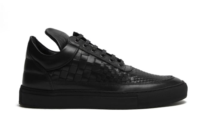 "Filling Pieces Low Top ACP Woven ""Black"""