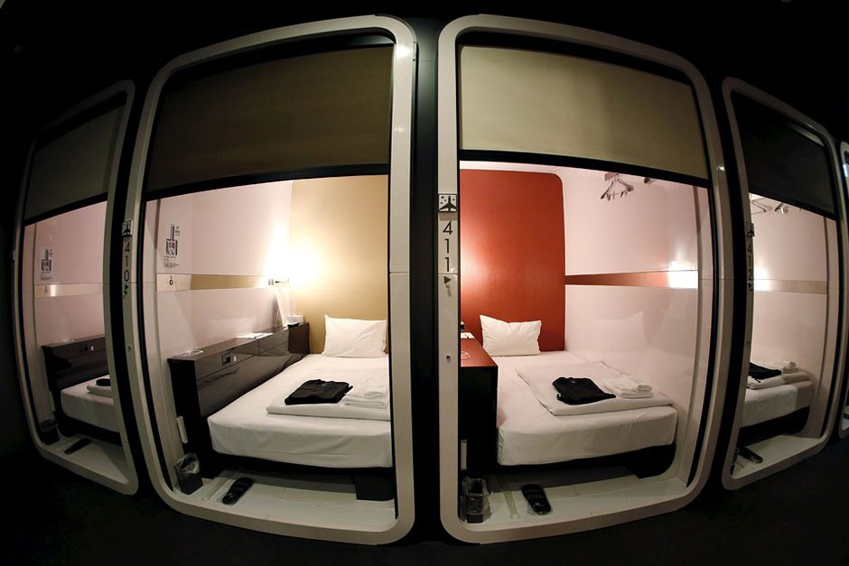 First Cabin Is A Luxurious Take On Japanese Capsule Hotels Hypebeast